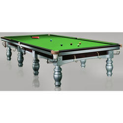 Antique Snooker Table with Aramith Ball Set