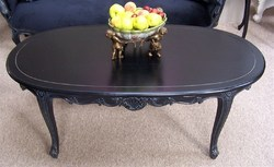 Rouge Oval Tea Table