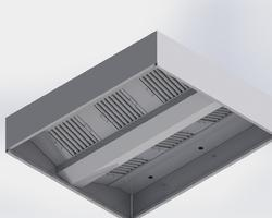 Box Type Hood with Filter