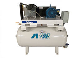 Anest Iwata Oil Free Air Compressor