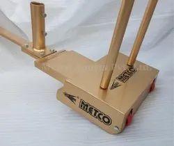 Metco Badminton Pole Movable Gold