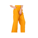 Ladies Yellow Palazzo Pants