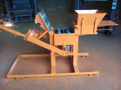 Manual Type Clay Brick Small Production Machine