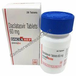 Daclatasvir Tablet 60 mg