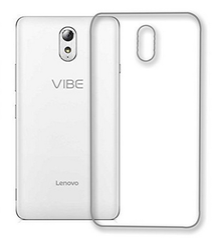 reputable site 5e750 58dd9 Flexible Soft Tpu Slim Back Cover For , Lenovo Vibe P1m