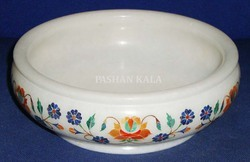Decorative Marble Inlay Bowl