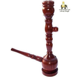 Wooden Red Hookah