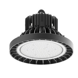 Matt White Round LED High Bay Light