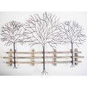Metal Tree Wall Piece