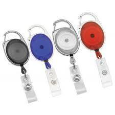 Oval Retractable Clips