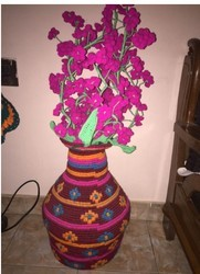 Fabric Flower Pot And Flower Pot Manufacturer Vijayasree House
