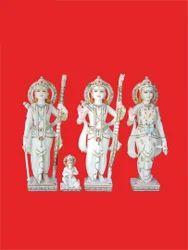 Ram Darbar Marble Moorti