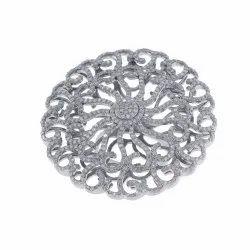 Pave Diamond Filigree Cocktail Ring