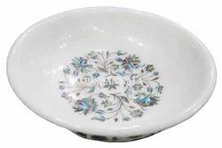 Marble Inlay Decorative Bowl