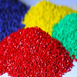 Coloured Granule for Textile Industry