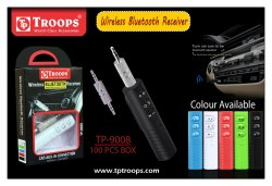 TROOPS TP-9008 BLUETOOTH RECEIVER