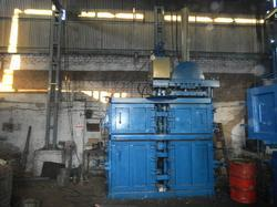Hydraulic Press for Paddy Straw