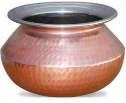 Copper Pots Amp Pans Copper Lagan Manufacturer From New Delhi