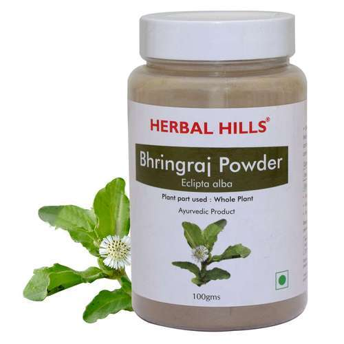 Natural & Pure Bhringraj Powder - 100 gms