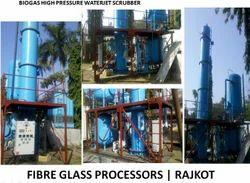 Biogas High Pressure Waterjet Scrubber