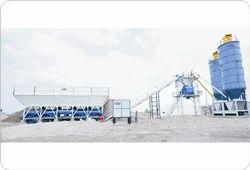 High Efficiency Automatic Concrete Batching Production Plant