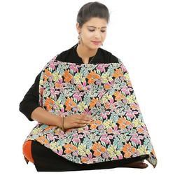 Flower Printed Feeding Cover For New Born Mother's