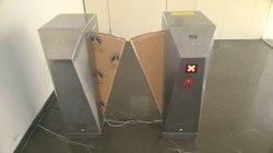 ESD Access System with Turnstile