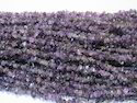 36 Long Amethyst Chip Bead Strands