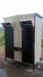 GRP Double Toilets