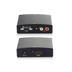 VGA with Audio to HDMI Out Converter with Power