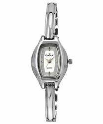 Omax Analog White Dial Women's Watch - BLS203V003