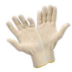 Cotton/ Poly Cotton Seamless Knitted Gloves