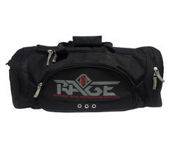 Rage Black Travel Gym Bag