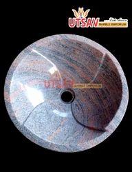 Granite Round Shape Wash Basin