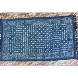 Hand Block Print Floor Carpet Darri