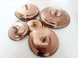 Copper SS Hammered Covers