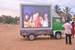 LED Mobile Van Advertisement Service