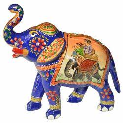 Meena Painted Sawari Elephant
