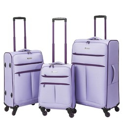 Travel Trolley Bag Wine Grey Color