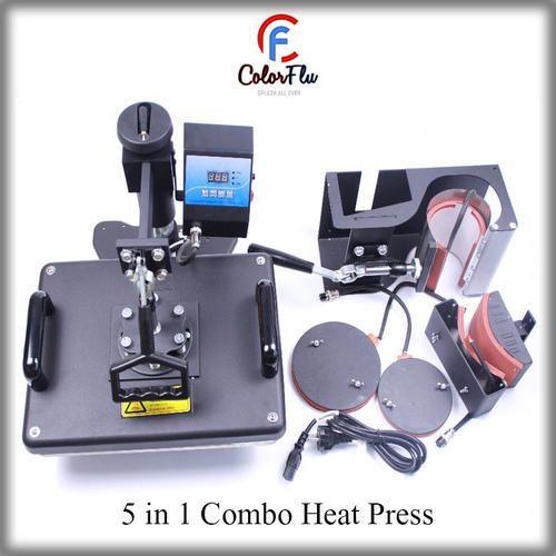 6cd2d3e1d61ad Heat Press Machine - 5 in 1 Combo Heat Press Machine Wholesale ...