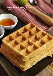 Eggless Waffle Remix
