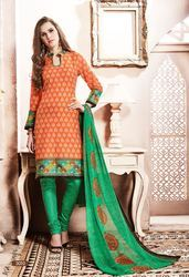 Roja By Imperial Semi-Stitched Suit