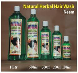 Natural Herbal Hair Wash Shampoo ( Neem )