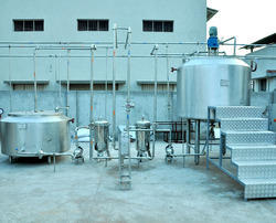 Jacketed Tank For Sugar Syrup Plant