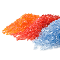 PC Transparent Colored Plastic Granules