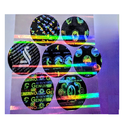 Rainbow Holographic Cold Lamination Film