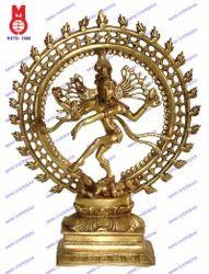 Natraj Dancing Double Ring Statue