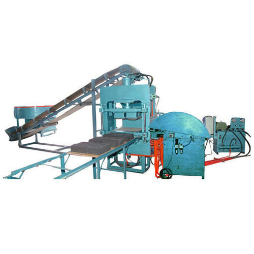 Automatic Hydraulic Fly Ash Bricks Machine
