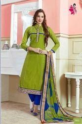 Chanderi Salwar Suit