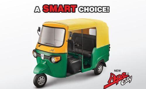 Piaggio Three Wheeler Cng Auto Rickshaw Exporter From Pune